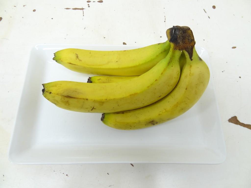 バナナ 食品乾燥機 乾燥前