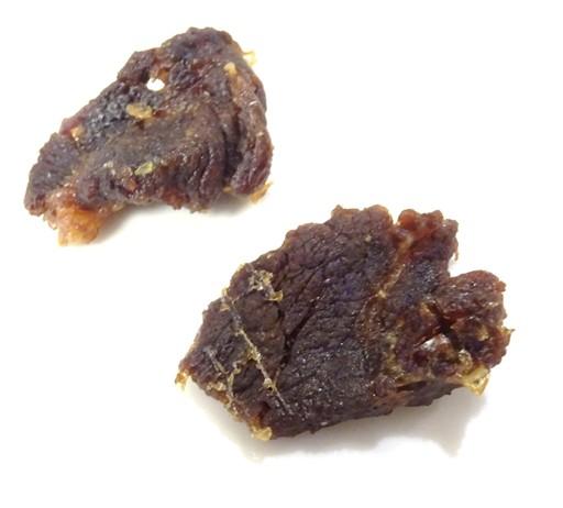 缶詰牛肉のビーフジャーキー