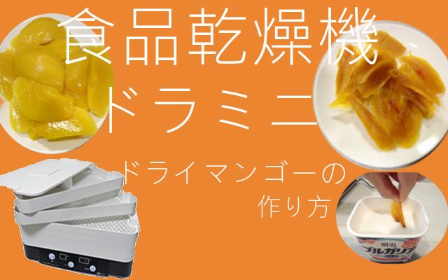 ドライマンゴーの作り方