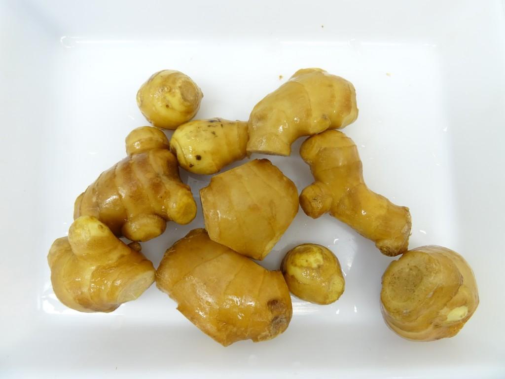 乾燥前生姜