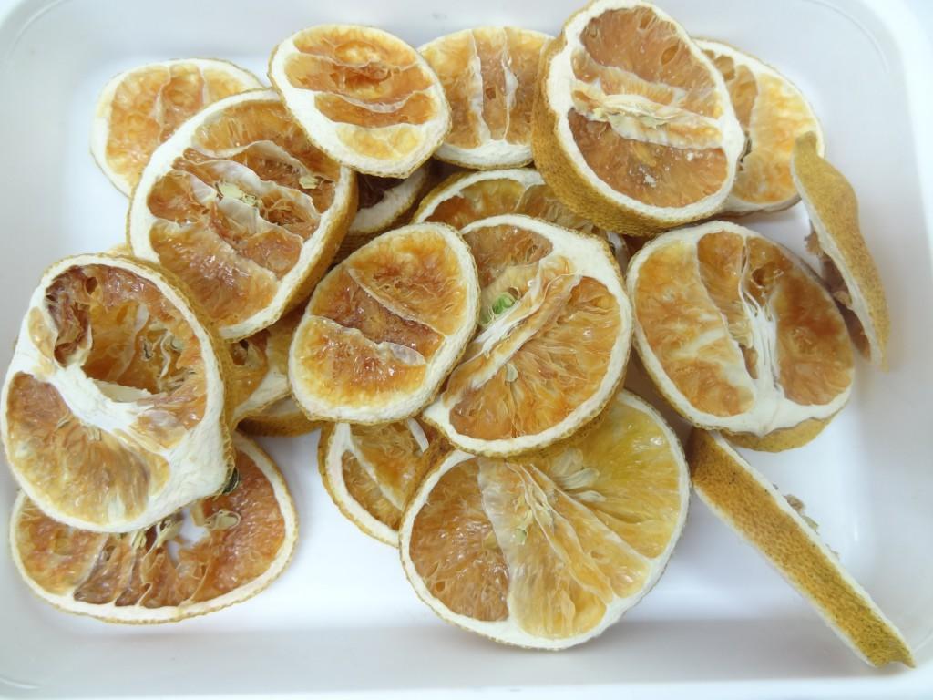 乾燥レモン