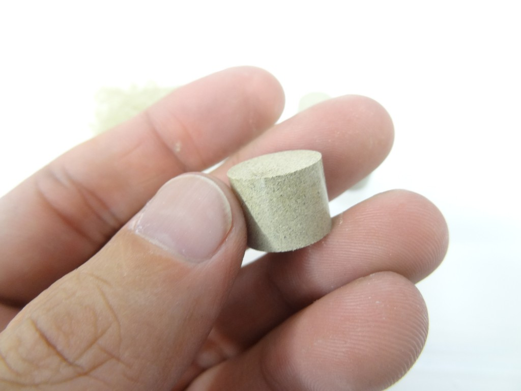 昆布の粉末成形