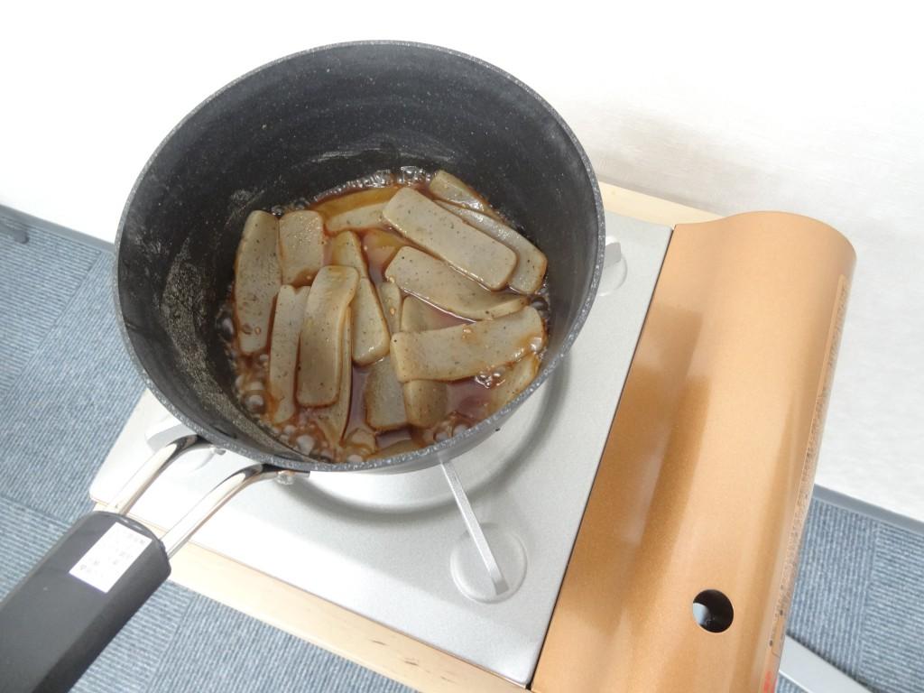 焼肉のタレ沸騰