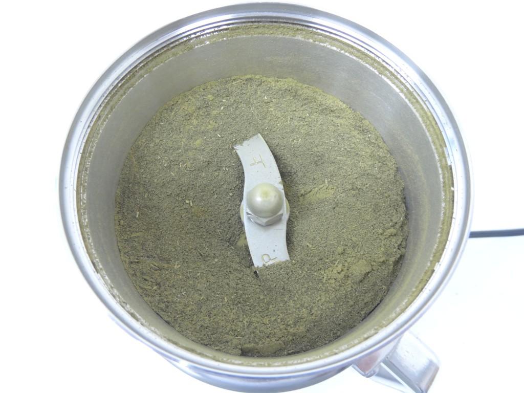 緑茶10秒粉砕