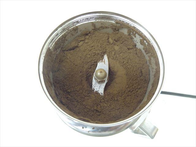 ウーロン茶の製粉コナッピーで2分粉砕001
