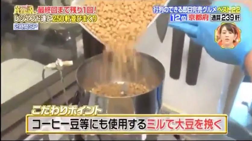大豆の製粉機 ハイスピードミル