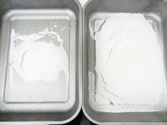米粉の完成