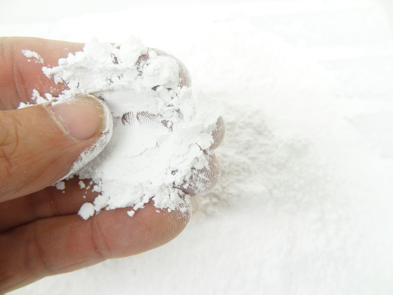 フルイ分けされたグラニュー糖のアップ