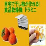 [スライスした干し柿の作り方]ドライフルーツメーカーで乾燥させます
